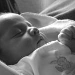 kraamzorg opleiding - slapende baby